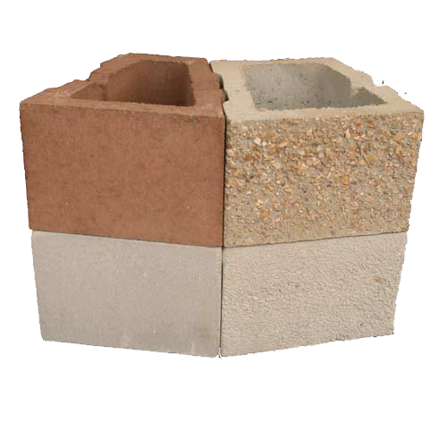 Wedge Block Four Texture Product Image